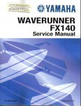 Used Official 2002 Yamaha FX140A AC Factory Service Manual