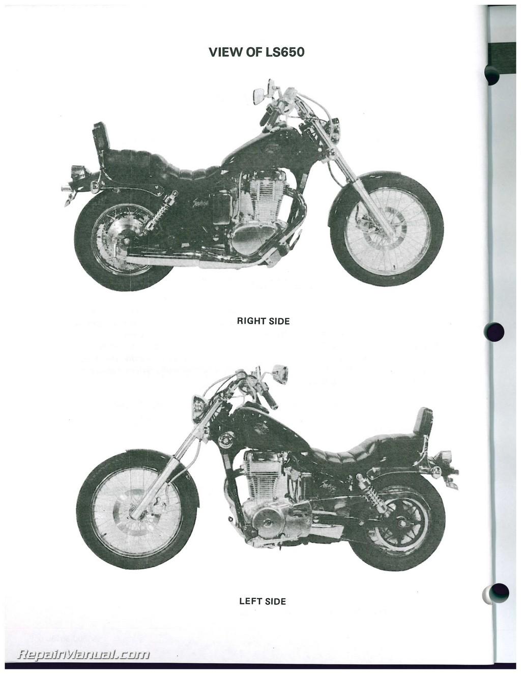 ls650 savage s40 boulevard 1986 2009 suzuki motorcycle service manual rh repairmanual com