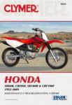 Honda XR80R CRF80F XR100R CRF100F 1992-2009 Clymer Repair Manual