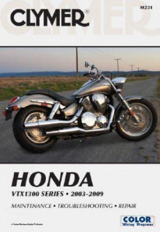 Clymer Honda VTX1300 Series 2003-2009 Repair Manual