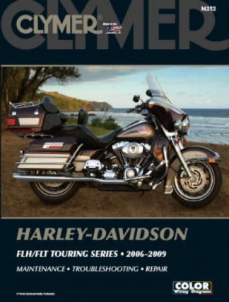 Clymer Harley-Davidson FLH FLT Electra Glide Road King 2006-2009 Repair Manual