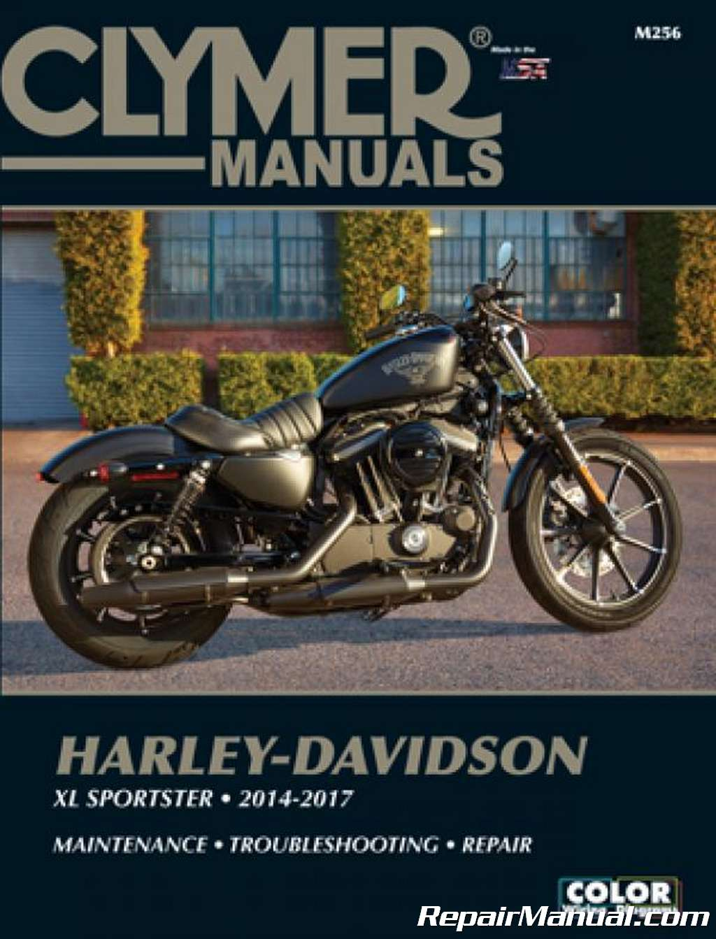 2014 - 2017 Harley-Davidson XL Sportster Motorcycle Repair Service Manual  by Clymer