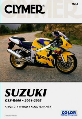 Suzuki GSX-R600 2001-2005 Repair Manual by Clymer