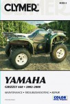 Yamaha 660 Grizzly Repair Manual 2002-2008 by Clymer