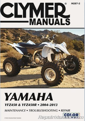 YFZ450 Repair Manual Yamaha 2004-2013 Clymer
