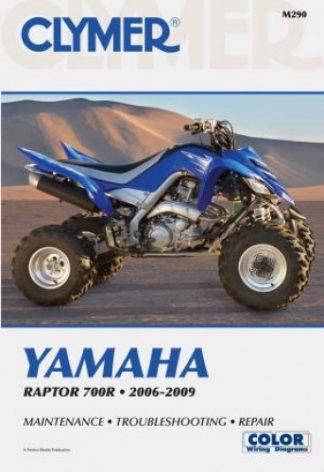 Clymer Yamaha Raptor YFM700R 2006-2009 Repair Manual