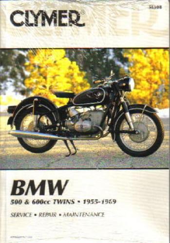 1955-1969 BMW R50, R50/2,R50S, R50US, R60, R60/2, R60US, R69, R69S, and R69US Clymer Repair Manual