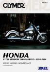 1998-2006 Honda VT750 Shadow Service Maintenance Repair Manual by Clymer