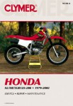 1979-2003 Honda XL XR TLR125-200 Repair Manual by Clymer