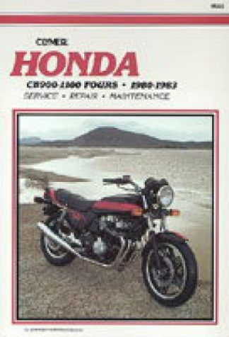 1980-1983 Honda CB900 CB1000 CB1100 Repair Manual by Clymer