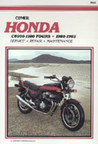 1980-1983 Honda CB900 CB1000 CB1100 Repair Manual by Clymer