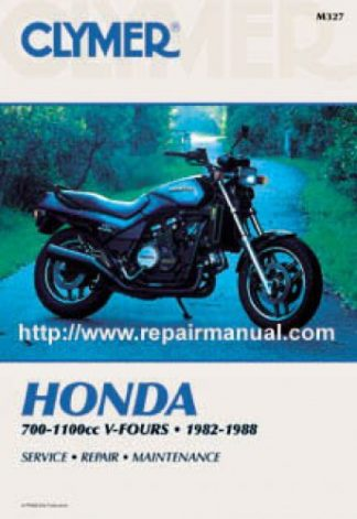 Clymer Honda 700-1100cc V-Fours 1982-1988 Repair Manual