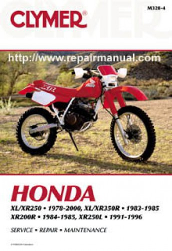 M T on Honda Xr History
