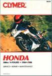 Clymer Honda 500cc V-Fours 1984-1986 Repair Manual