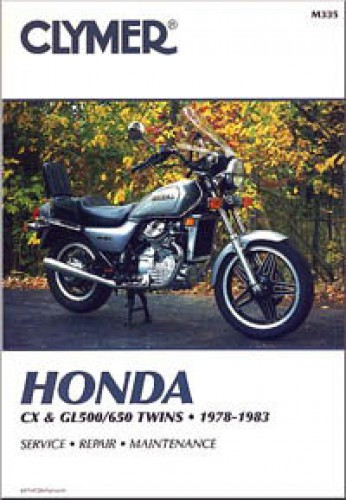 Clymer Honda CX GL500 650 1978-1983 Repair Manual