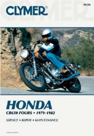 Clymer Honda CB650 1979-1982 Repair Manual