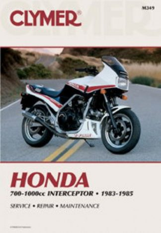 1983-1985 Honda VF700 VF750 V45 VF1000 Interceptor Repair Manual by Clymer