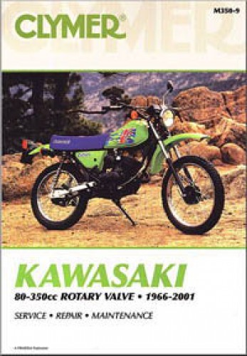 Kawasaki Rotary Valve 80-350 Repair Manual 1966-2001 Clymer