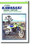 Kawasaki KDX200 Repair Manual 1983-1988 Clymer