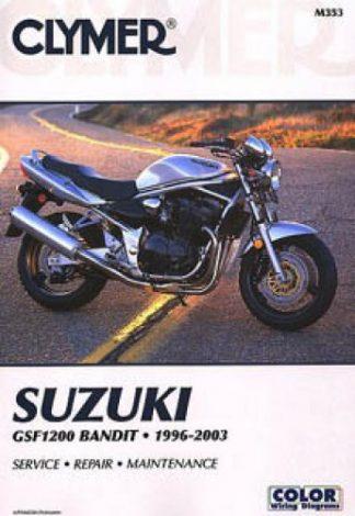 Clymer Suzuki GSF1200 Bandit 1996-2003 Repair Manual