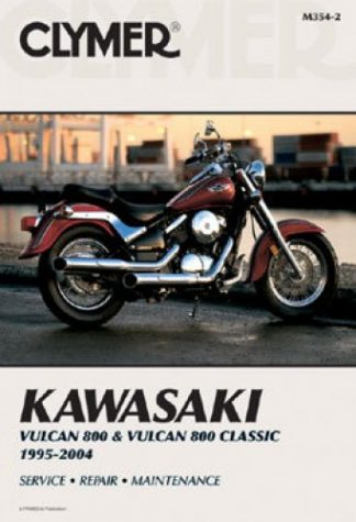 Clymer Kawasaki VN800 Vulcan 1995-2005 Repair Manual