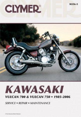 Clymer Kawasaki VN700 VN750 Vulcan 1985-2006 Repair Manual