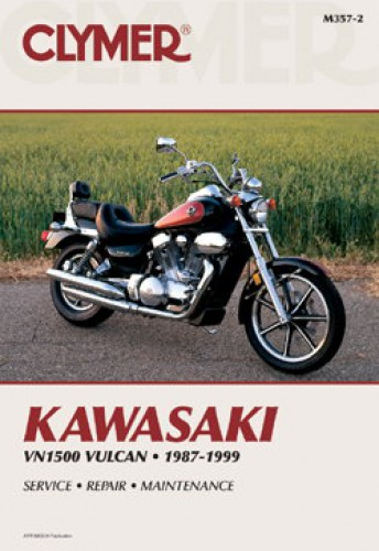 Honda A12 Service >> Kawasaki VN1500 Vulcan 1987-1999 Clymer Motorcycle Repair Manual