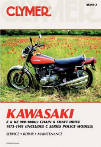 1973 1981 Kawasaki Z Kz900 1000 Motorcycle Repair Manual By Clymer