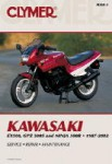 1987-2002 Kawasaki EX 500 GPZ500S Ninja 500R Repair Manual by Clymer