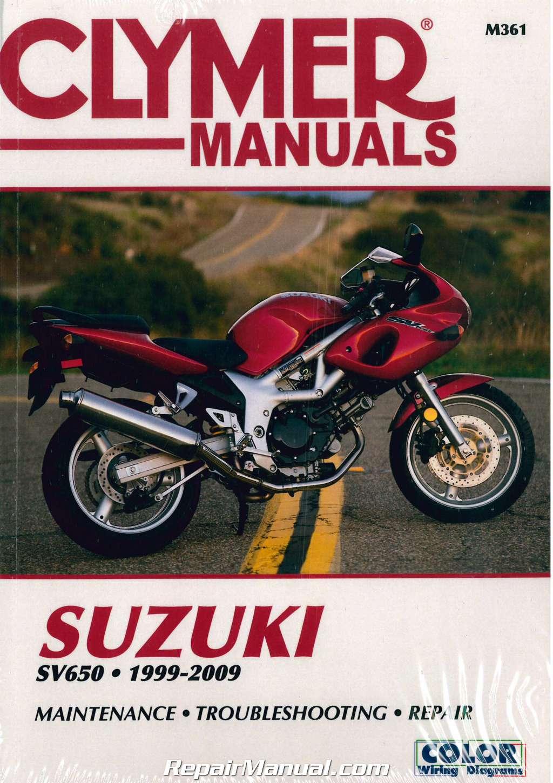 Sv650 Repair Manual 1999
