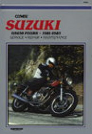 1981-1983 Suzuki GS650 Motorcycle Repair Manual by Clymer
