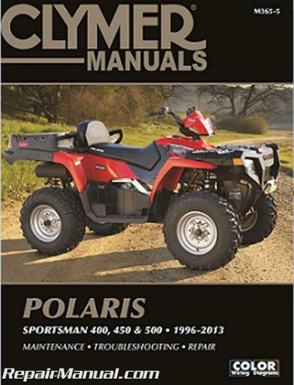 Clymer Polaris Sportsman Xplorer ATV 1996 - 2013 Repair Manual