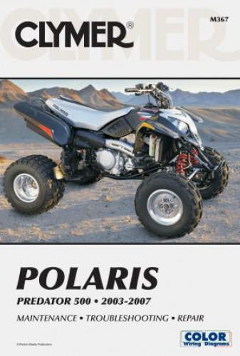 2003 2007 polaris predator atv repair manual by clymer. Black Bedroom Furniture Sets. Home Design Ideas