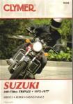 Clymer Suzuki 380-750cc Triple 1972-1977 Repair Manual
