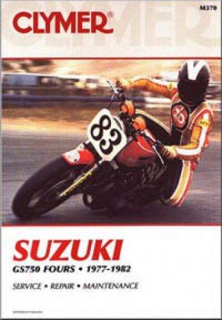 1977-1982 Suzuki GS750 Motorcycle Service Repair Manual by Clymer