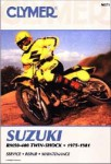 Suzuki RM50-400 Twin Shock Repair Manual 1975-1981 Clymer