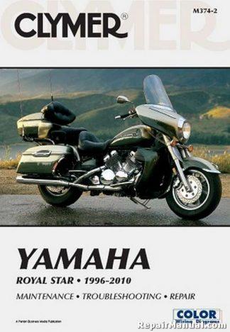 Clymer Yamaha XVZ1300 Royal Star 1996-2010 Motorcycle Repair Manual