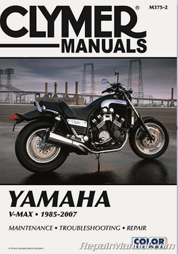 Yamaha v max vmx1200 1985 2007 clymer motorcycle repair manual for Yamaha ysp 5600 manual