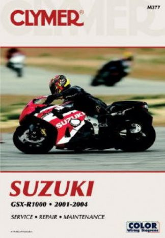 Clymer Suzuki GSX-R1000 2001-2004 Repair Manual