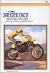 Clymer Suzuki RM125-500 Single Shock 1981-1988 Repair Manual