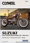 Suzuki LS650 Savage Boulevard S40 1986-2012 Clymer Repair Manual