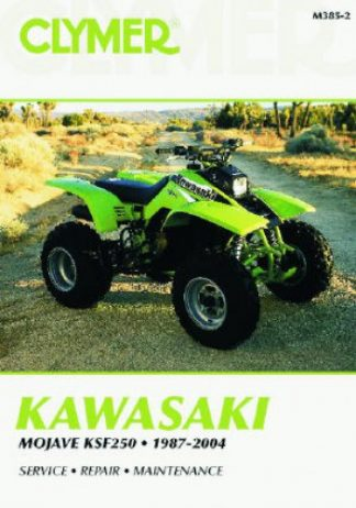 Clymer 1987-2004 Kawasaki KSF250 Mojave Repair Manual