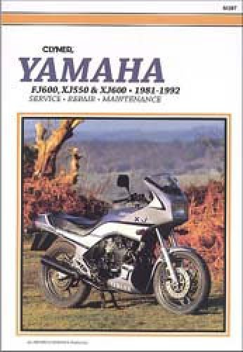 clymer yamaha xj550 xj600 fj600 1981 1992 repair manual rh repairmanual com yamaha xj550 workshop manual yamaha xj 550 owners manual