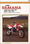 Clymer Yamaha YZ125 YZ250 1985-1987 / YZ490 1985-1990 Repair Manual
