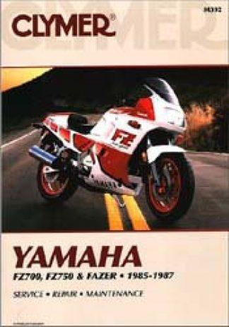 Clymer Yamaha FZ700-750 Fazer 1985-1987 Repair Manual