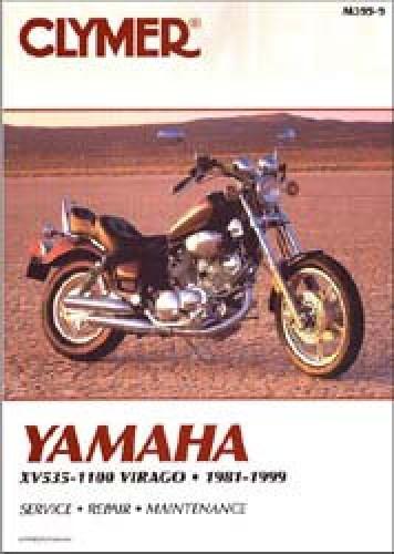 Clymer Yamaha XV535-1100 Virago 1981-2003 Repair Manual
