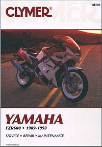 clymer yamaha fzr600 1989 1993 repair manual. Black Bedroom Furniture Sets. Home Design Ideas