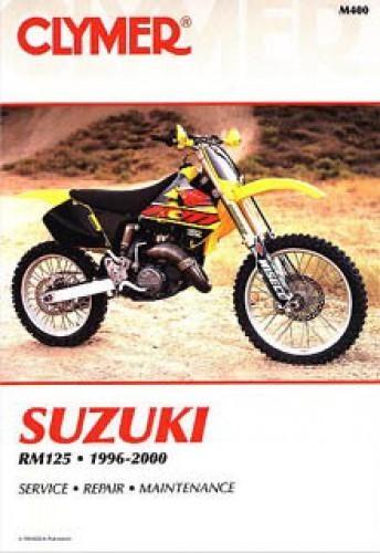 1996 2000 suzuki rm125 clymer motorcycle repair manual rh repairmanual com 2003 suzuki rm 125 service manual pdf suzuki rm125 service manual download