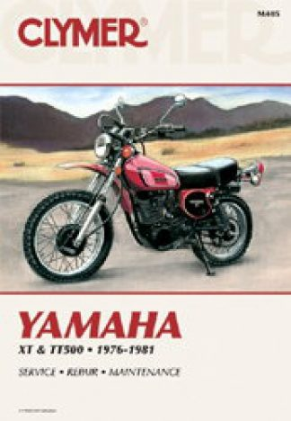 Clymer Yamaha XT500 TT500 1976-1981 Repair Manual