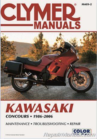 1986-2006 Kawasaki Concours Clymer Repair Manual